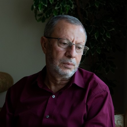 Dr. Abedalhaleem Ashqar at his home in Virginia on June 20, 2019.