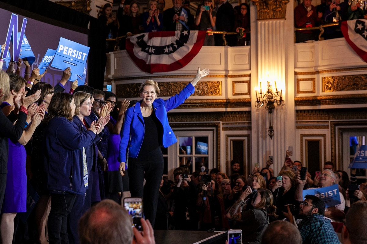Elizabeth Warren Lays Out a Theory of Change at First Democratic Debate