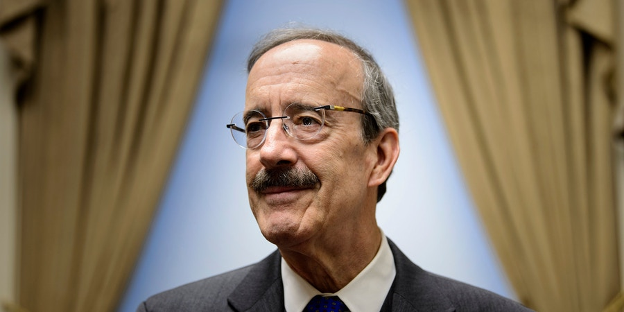 Ranking member of the House Foreign Relations Committee, Rep. Representative Eliot Engel (D-NY), who is a leading candidate to take over the panel, poses for a portrait in his office on Capitol Hill November 15, 2018 in Washington, DC. (Photo by Brendan Smialowski / AFP)        (Photo credit should read BRENDAN SMIALOWSKI/AFP/Getty Images)