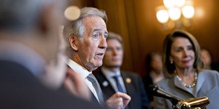 Rep. Richard Neal speaks at a news conference on health care legislation at the U.S. Capitol in Washington, D.C., on March 26, 2019.