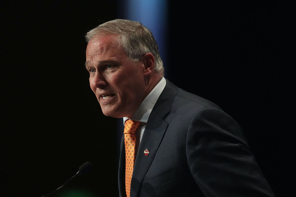 Jay Inslee Just Dropped the Most Ambitious Climate Plan From a Presidential Candidate. Here's Who It Targets.