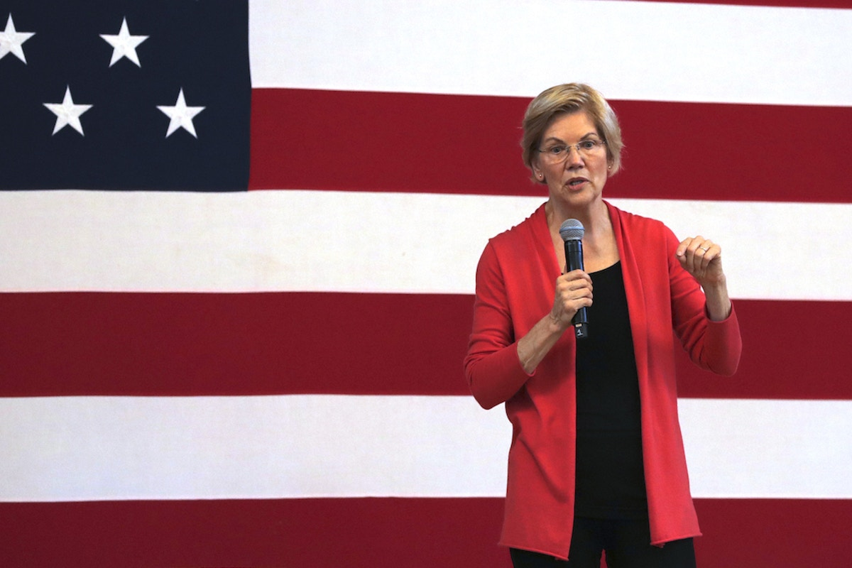 Give Elizabeth Warren a Break — Even Ariel Sharon Said the Israeli Occupation Had to End
