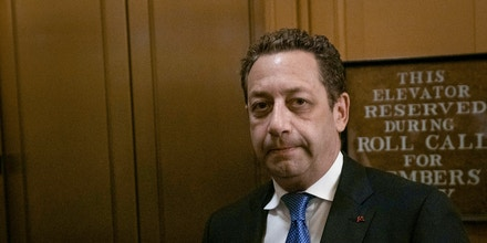 Felix Sater, a former business associate to United States President Donald J. Trump, arrives to his closed door testimony before the House Intelligence Committee on Capitol Hill in Washington D.C., U.S. on July 9, 2019. The committee issued a subpoena after he failed to appear to his scheduled testimony in June, where he was set to speak about his involvement in the Trump Tower Moscow project. Credit: Stefani Reynolds / CNP | usage worldwide Photo by: Stefani Reynolds/picture-alliance/dpa/AP Images