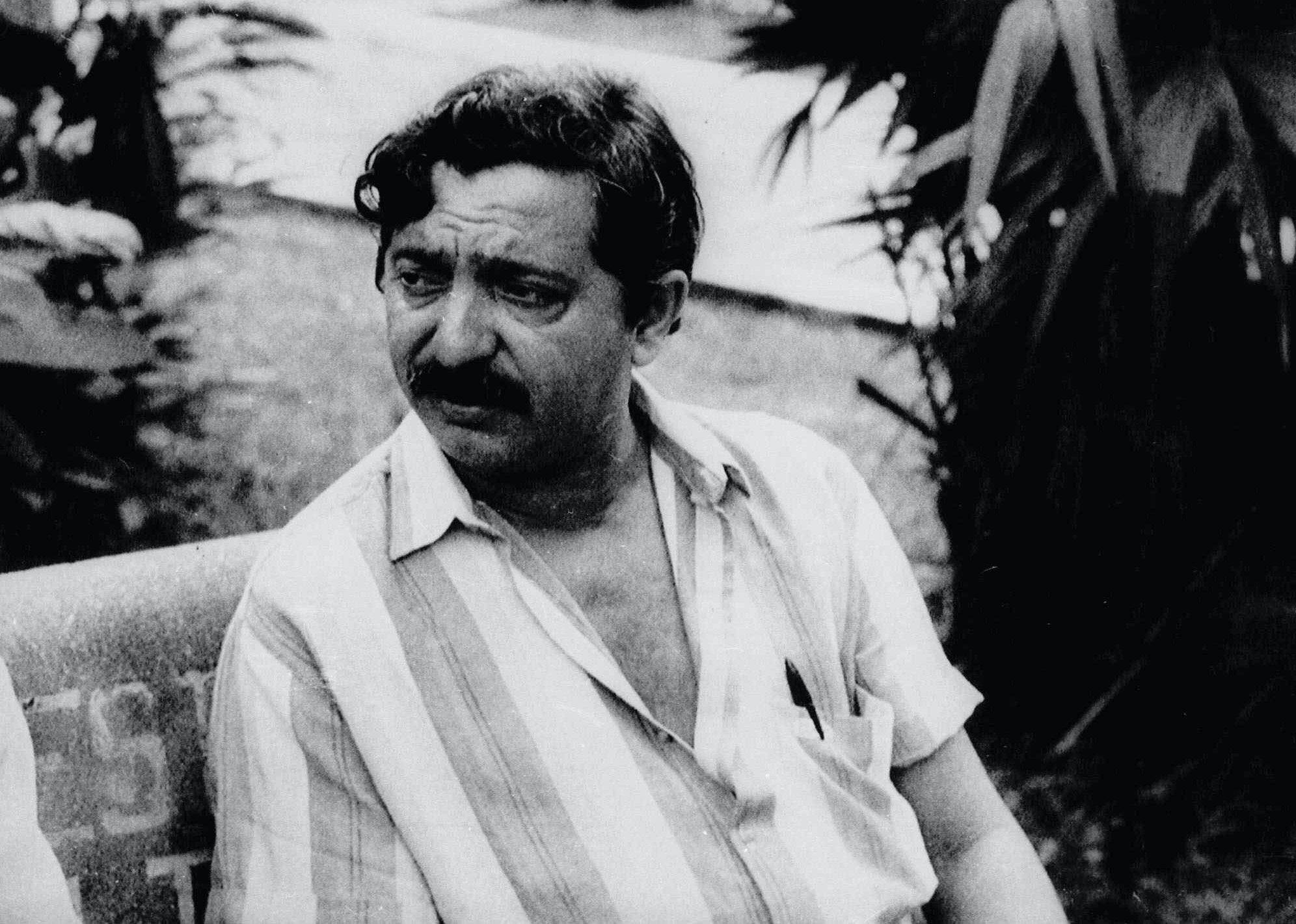 "Francisco ""Chico"" Mendes, an internationally acclaimed ecologist and advocate of the preserevation of the Amazon Jungle was shot and killed; by unidentifed gunmen at his home in the remote  Amazon jungle in December 1988. This is a  Feb.1988 photo. (AP Photo)"