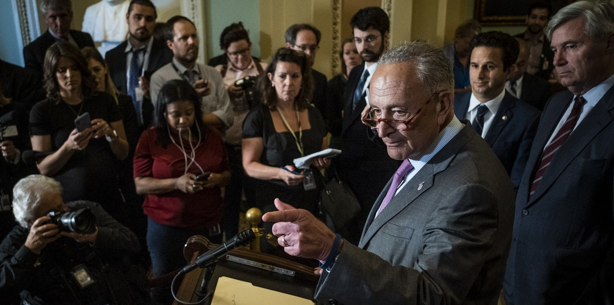 theintercept.com - Ryan Grim - Chuck Schumer, in Meeting With Progressive Caucus, Said He Was Surprised House Democrats Waved Through the Senate Border Bill