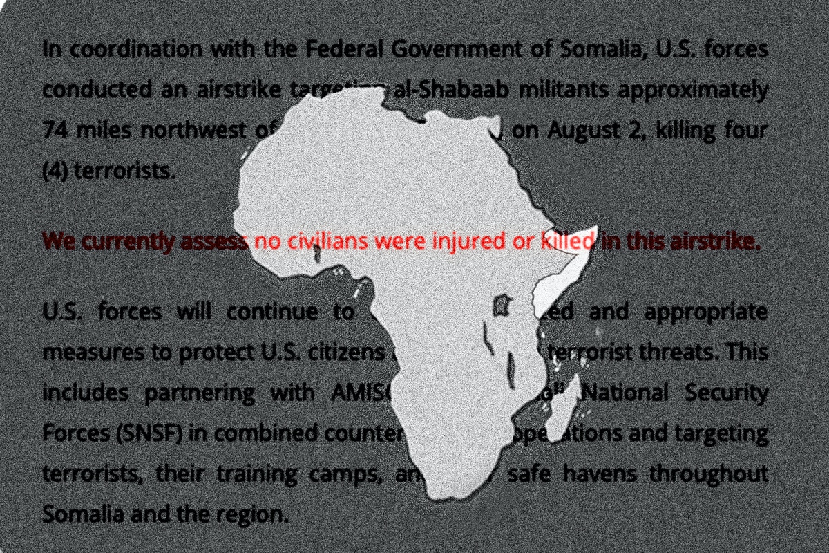 """Pentagon Document Shows U.S. Knew of """"Credible"""" Reports of Civilian Casualties After Its Attacks in Somalia"""