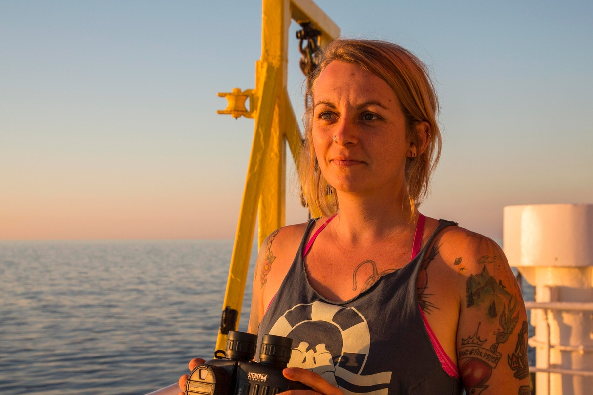 From the Mediterranean to Mexico, Capt. Pia Klemp Believes Rescuing Refugees Is Worth Facing Prison Time