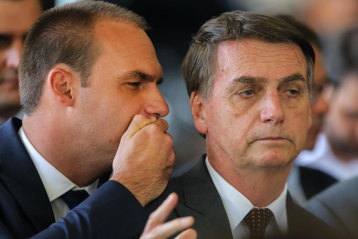 Eduardo Bolsonaro, Pro-Trump Son of Brazil's President, on Track to Be Ambassador to U.S.