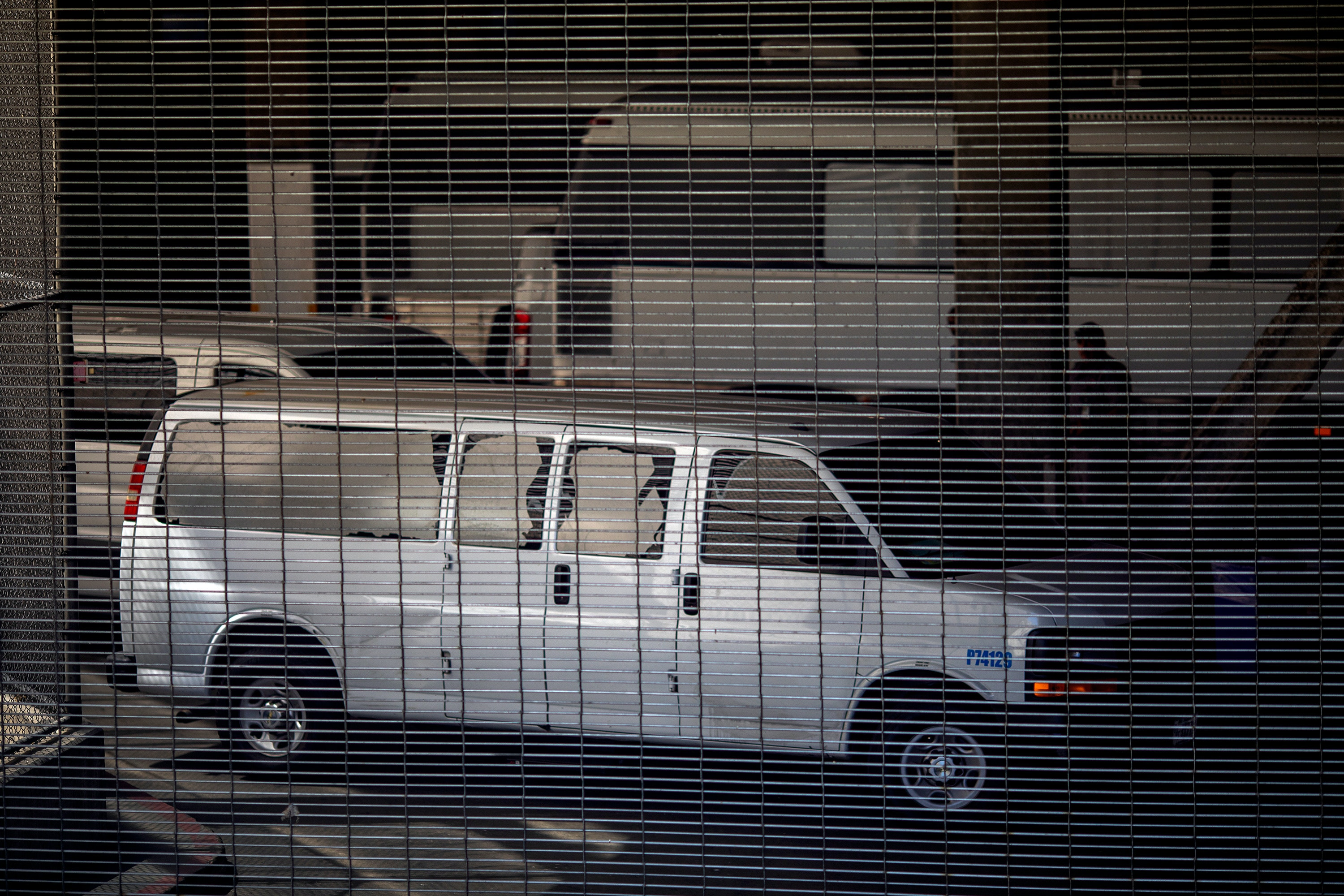 LOS ANGELES, CA - JULY 14: Vehicles are seen in an intake area under the Metropolitan Detention Center prison as mass arrests by federal immigration authorities, as ordered by the Trump administration, were supposed to begin in major cities across the nation on July 14, 2019 in Los Angeles, California. The U.S. Immigration and Customs Enforcement was expected to be target hundreds of Angelenos for deportation, plus family members and others they encounter and suspect of being undocumented. The city of Los Angeles declared itself a sanctuary city to reflect its policy since the 1970s of not allowing police to help immigration officials because the city wants its immigrant populations to not be afraid to cooperate with police or call in crimes and emergencies. Elected officials and activists have continued to lash out against the raids.   (Photo by David McNew/Getty Images)