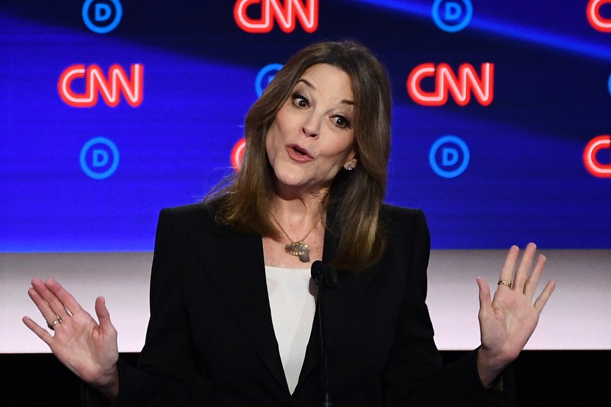 We Desperately Need Marianne Williamson's Message. It's Ominous That We're Only Getting It From Marianne Williamson.