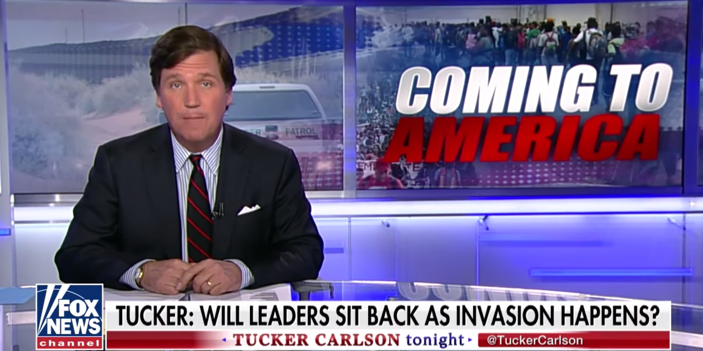 Fox news spread sstory of invasion