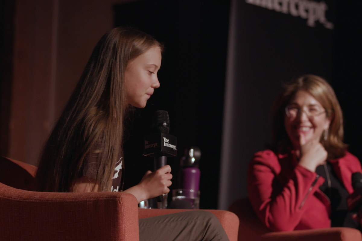 "Greta Thunberg on the Climate Fight: ""If We Can Save the Banks Then We Can Save the World"""