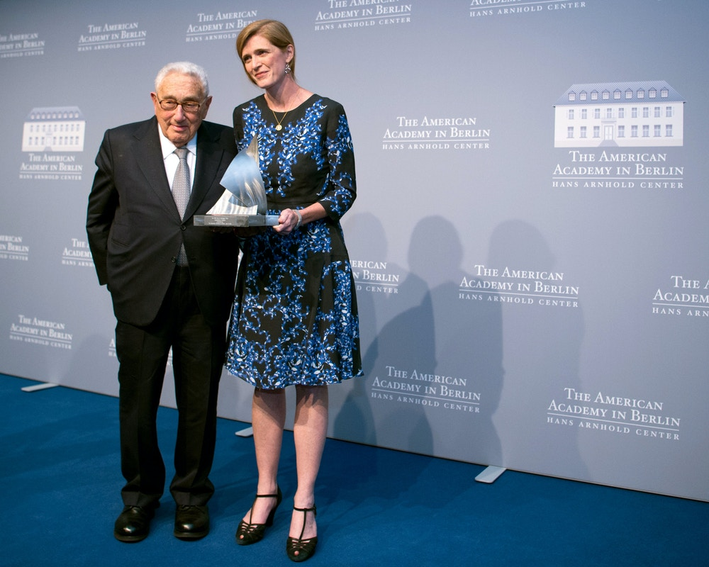 Henry Kissinger Prize 2016