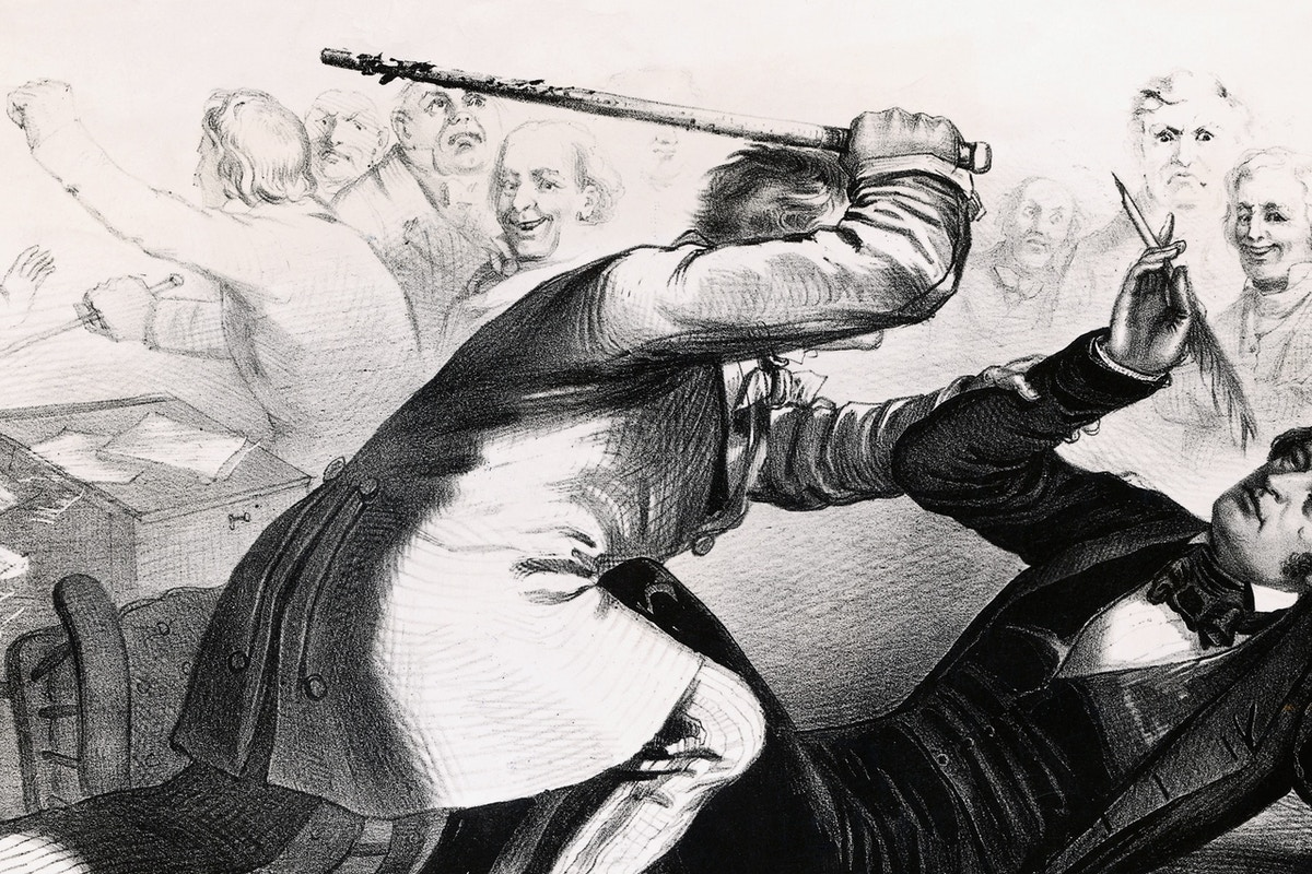 Democratic Senators Orchestrated Infamous Caning of Slavery Opponent, According to New Book