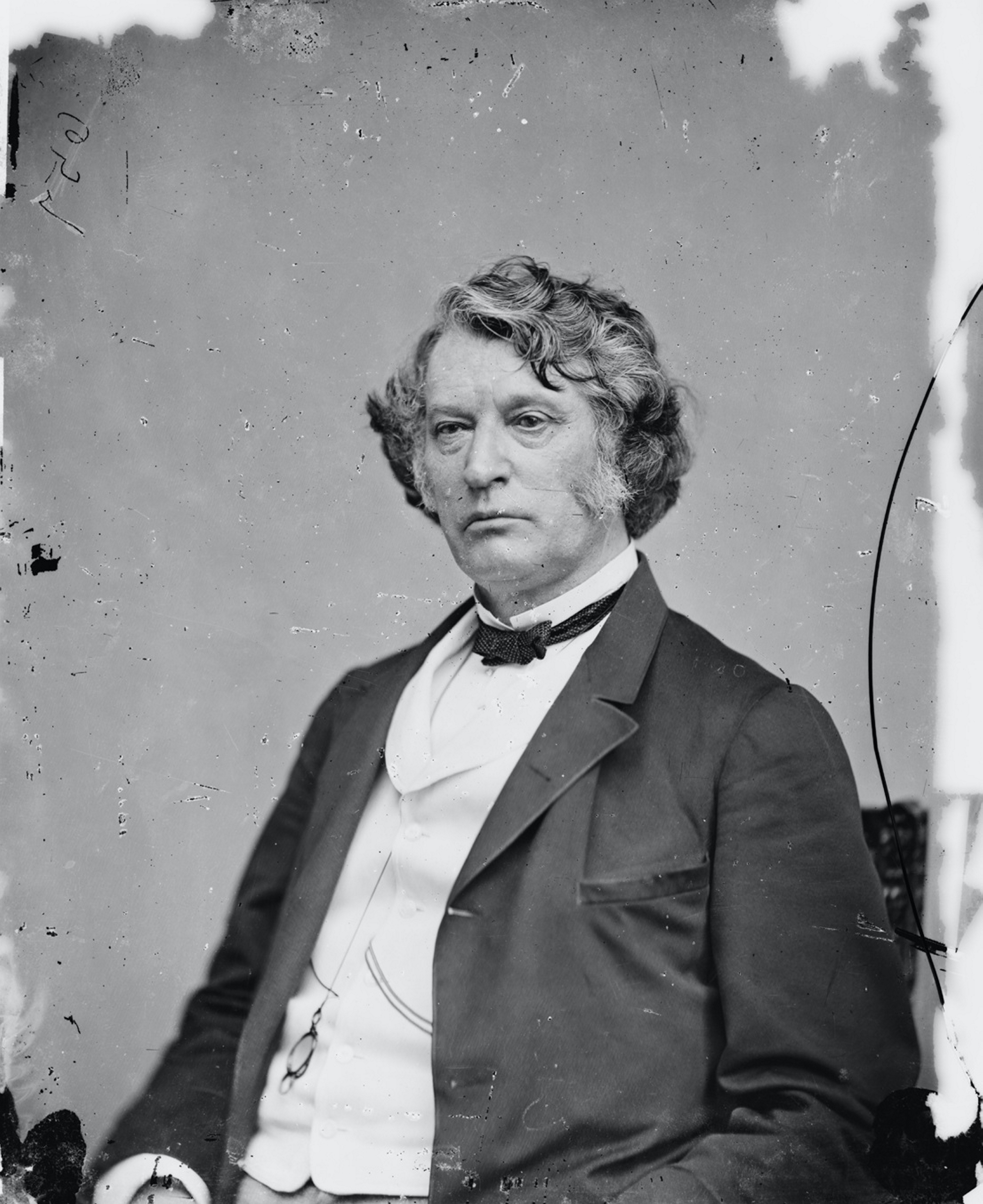 Senator Charles Sumner, c. 1861. (Photo by: Universal History Archive/Universal Images Group via Getty Images)