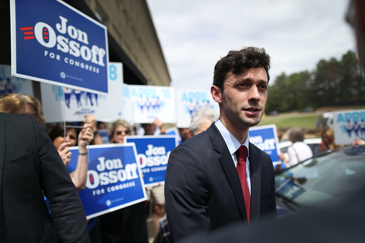 """Jon Ossoff is Back: """"I'm Still Standing and I'm Ready to Fight"""""""