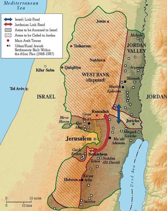 Netanyahu Hints Trump Plan Will Let Israel Annex Key Land