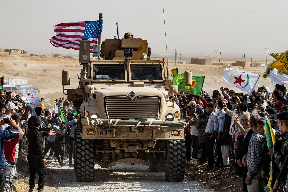 The U.S. Is Now Betraying the Kurds for the Eighth Time