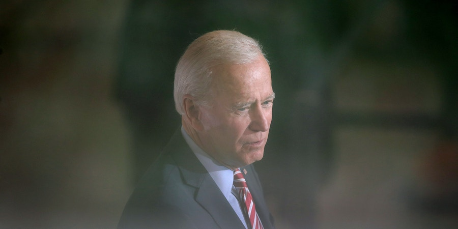 WEST POINT, IOWA - OCTOBER 23: Democratic Presidential candidate former Vice President Joe Biden speaks to guests during a campaign stop at the Small Grand Things event center on October 23, 2019 in West Point, Iowa. The 2020 Iowa Democratic caucuses will take place on February 3, 2020, making it the first nominating contest for the Democratic Party in choosing their presidential candidate.  (Photo by Scott Olson/Getty Images)