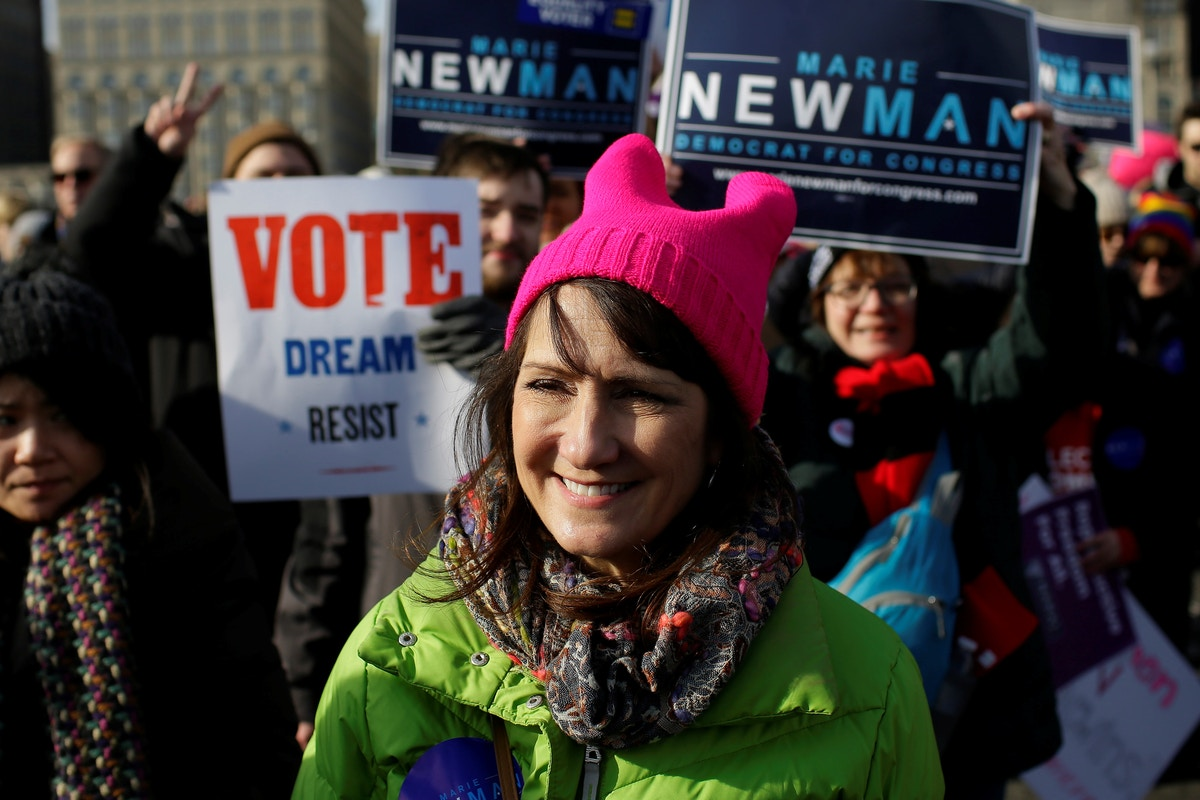 House Democrats, Dodging Party Policy, Are Privately Supporting Marie Newman