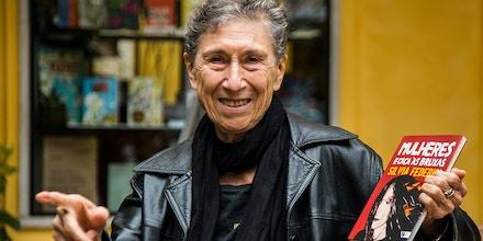 A historiadora italiana Silvia Federici em São Paulo, onde divulgou seus novos livros, 'O ponto zero da revolução' (Editora Elefante) e 'Mulheres e caça às bruxas' (Editora Boitempo).