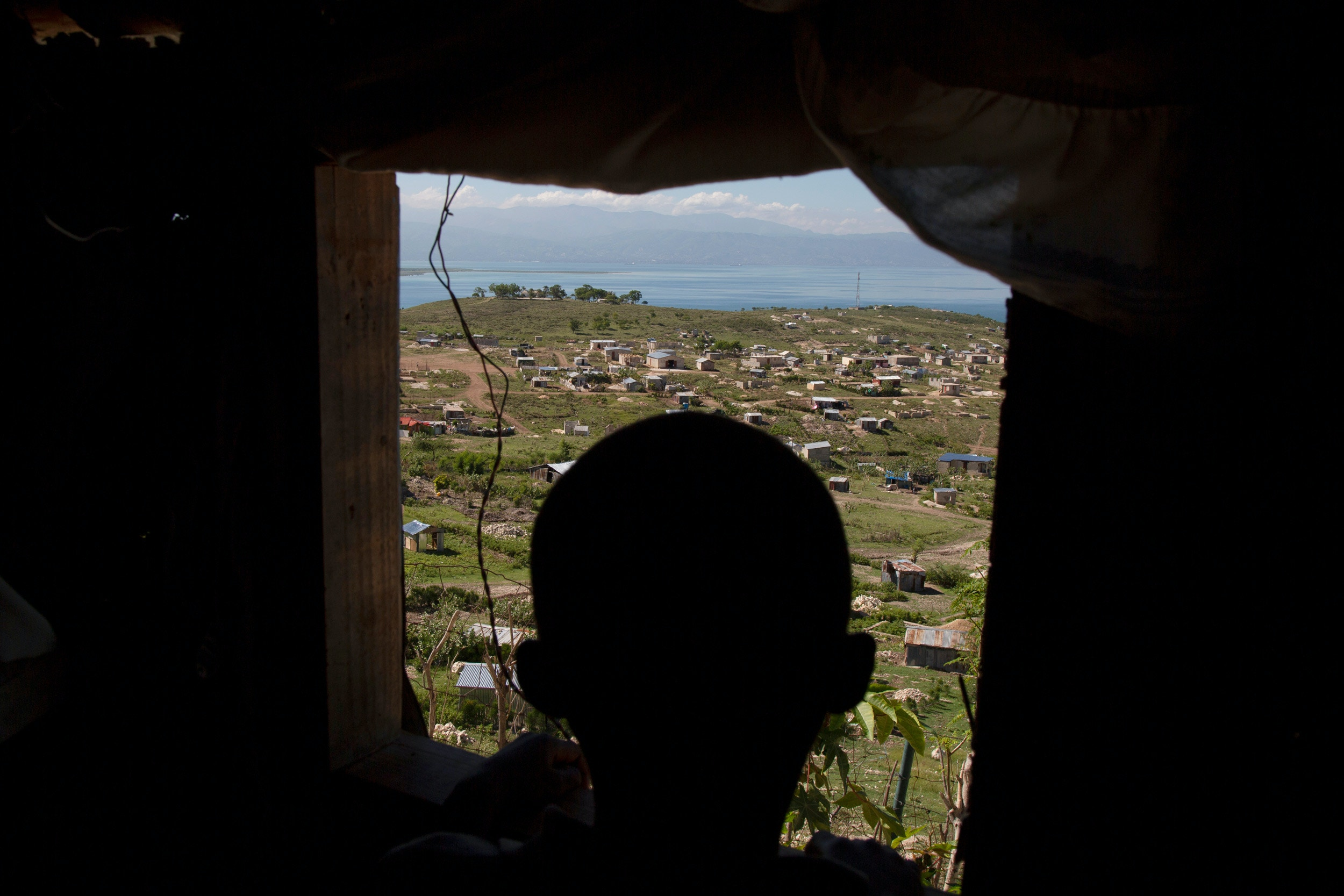 A view of Village Philadelphie, a community on the outskirts of Port-au-Prince.