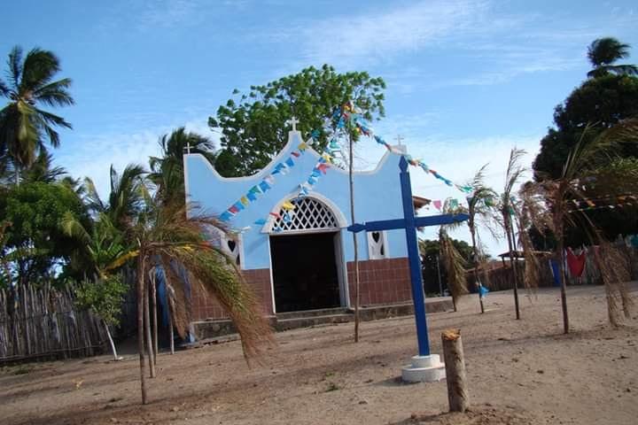 Igreja de Nossa Senhora da Conceição, em Canelatíua. (Foto: arquivo pessoal)