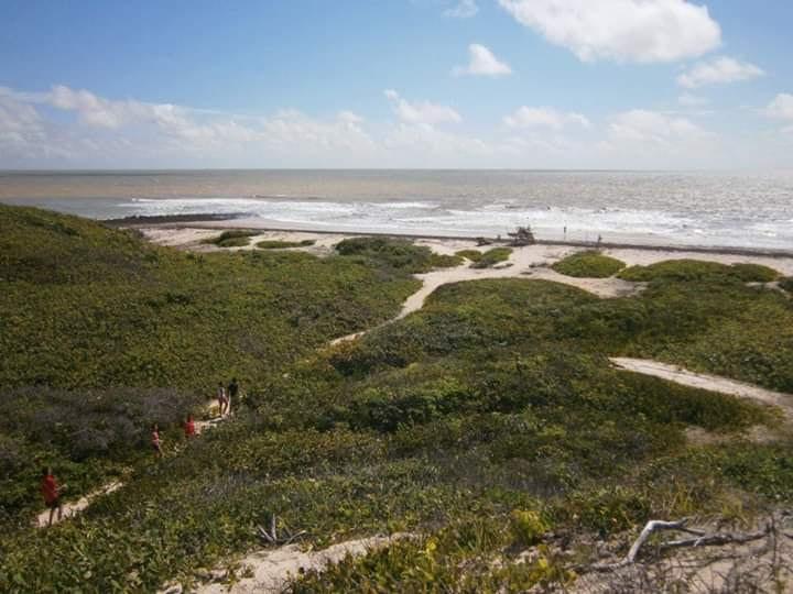 Praia da comunidade de Canelatíua, em Alcântara. (Foto: arquivo pessoal)