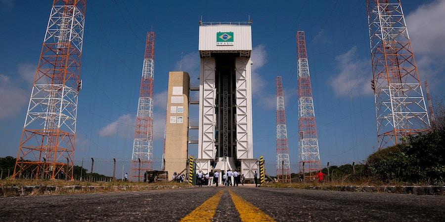 Estrutura do Centro de Lançamento de Alcântara, no Maranhão, onde está a plataforma de lançamento de foguetes.