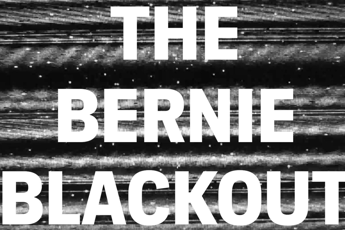 The Bernie Blackout is in effect — and it could help Sanders win