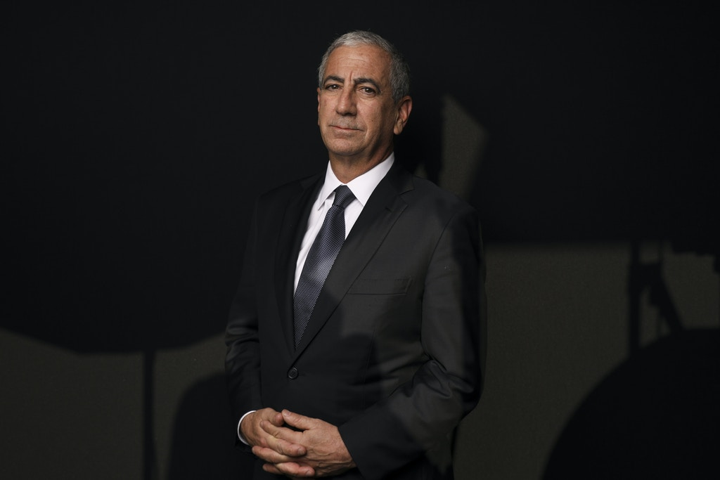 Ken Moelis, founder and chief executive officer of Moelis & Co., poses for a photograph following a Bloomberg Television interview on the opening day of the World Economic Forum (WEF) in Davos, Switzerland, on Tuesday, Jan. 22, 2019. World leaders, influential executives, bankers and policy makers attend the 49th annual meeting of the World Economic Forum in Davos from Jan. 22 - 25. Photographer: Simon Dawson/Bloomberg via Getty Images