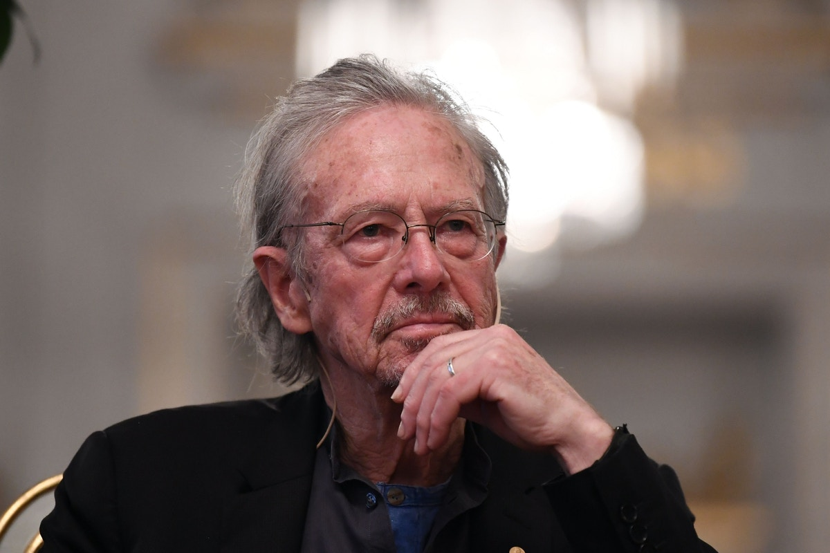 """Nobel Winner Peter Handke Compared My Questions About Genocide in Bosnia to a """"Calligraphy of Shit"""""""