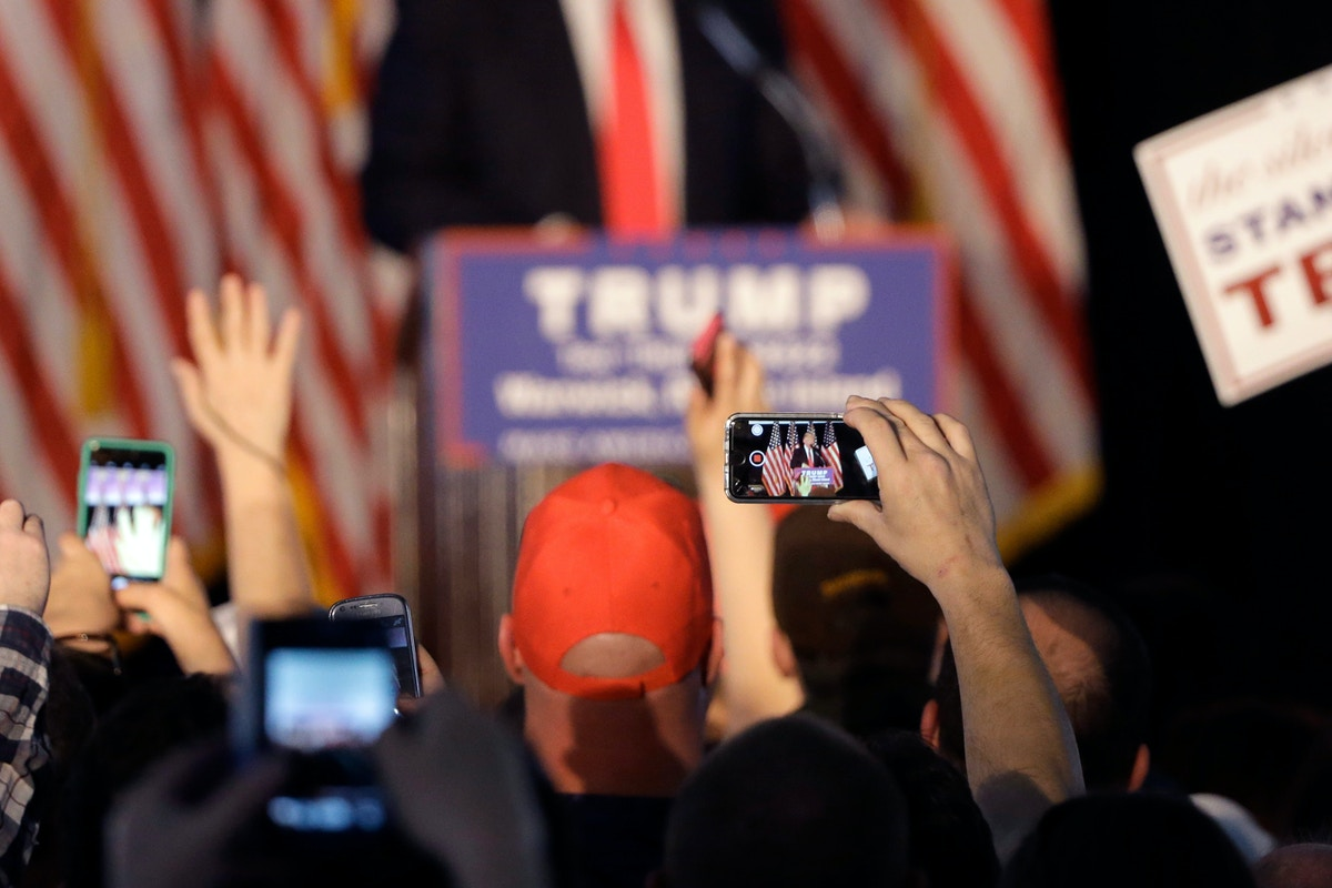 Trump Campaign Deploying Phone Location-Tracking Technology