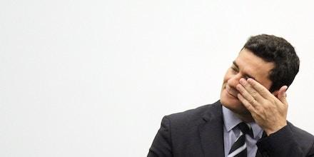 Manaus - AM, 13/12/2019 - SÉRGIO MORO-MANAUS. O Ministro da justiça e segurança pública, Sérgio Moro, inaugurou o Centro Integrado de Inteligência e Segurança Pública Regional Norte (CIISPR), com sede nas dependências do Sistema de Proteção da Amazônia (Sipam), na tarde desta sexta-feira (13) em Manaus. (Foto: Sandro Pereira/Código 19/Folhapress)