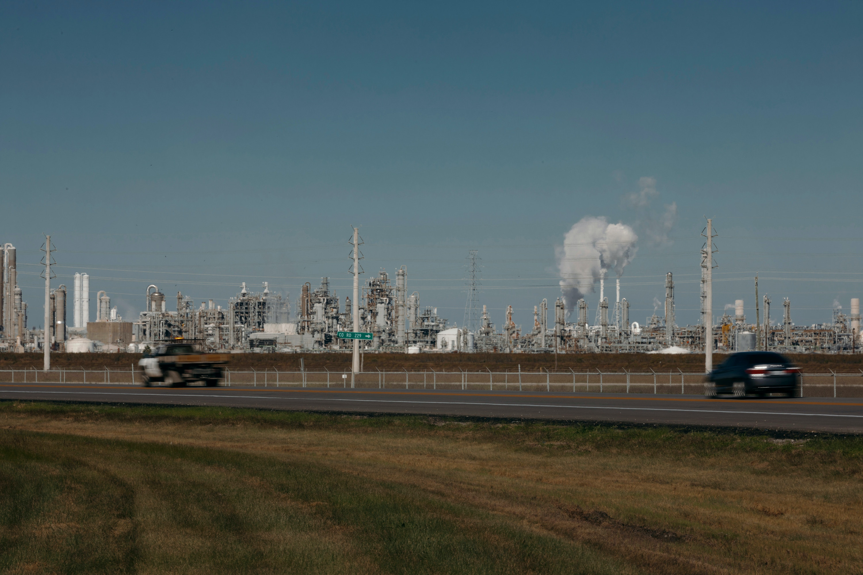 Scenes from Freeport, Texas on Wednesday, December 18th, 2019.Todd Spoth for The Intercept.