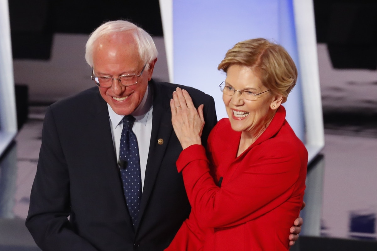 Current Status: The Sanders Campaign Researched Whether Warren Could Be Both Vice President and Treasury Secretary at Once