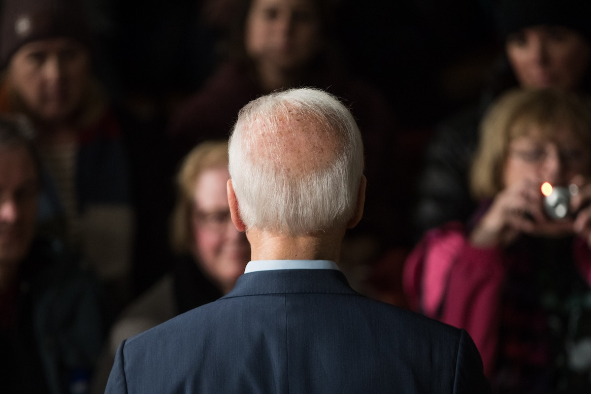 Joe Biden Is Getting Air Cover in Iowa From Undisclosed Donors