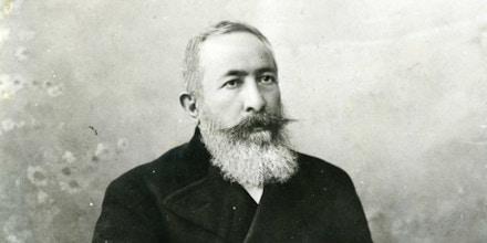 Yusuf Diya al-Din Pasha al-Khalidi, approximately in the 1890s.