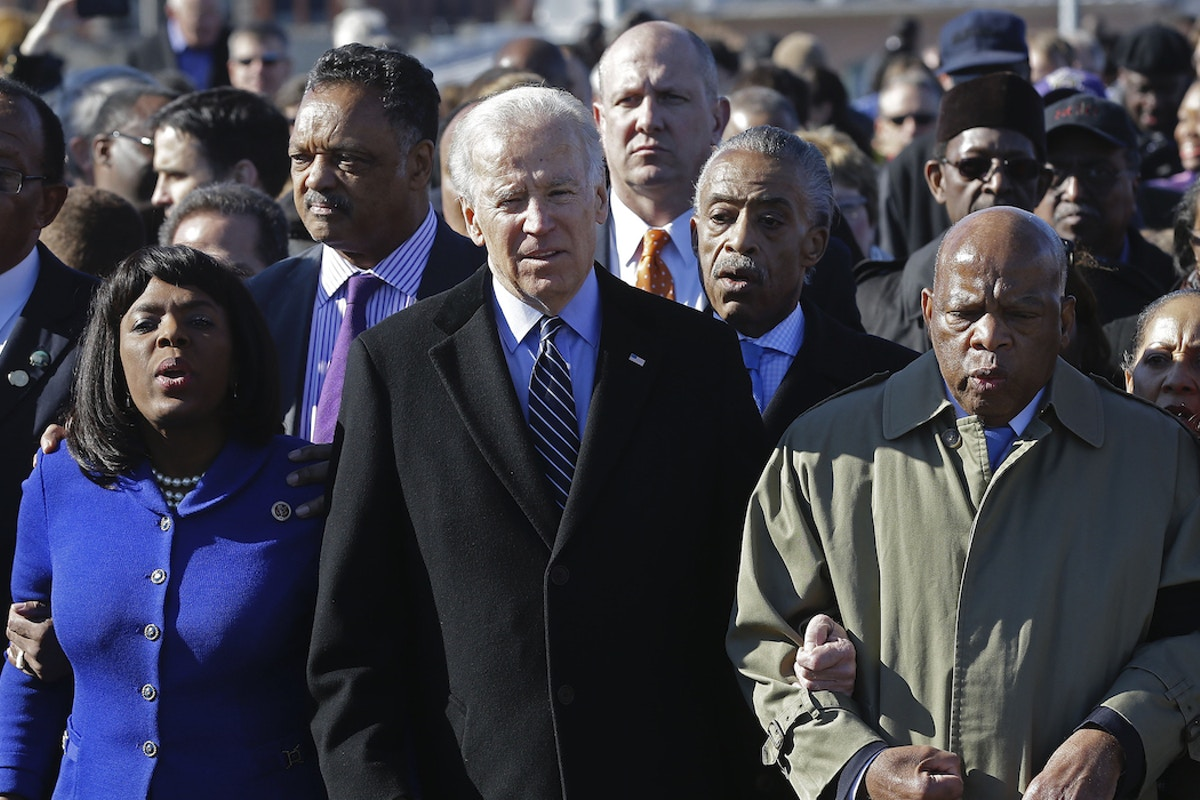 Ahead of South Carolina Vote, Joe Biden Faces Questions Over Claims of Civil Rights Activism