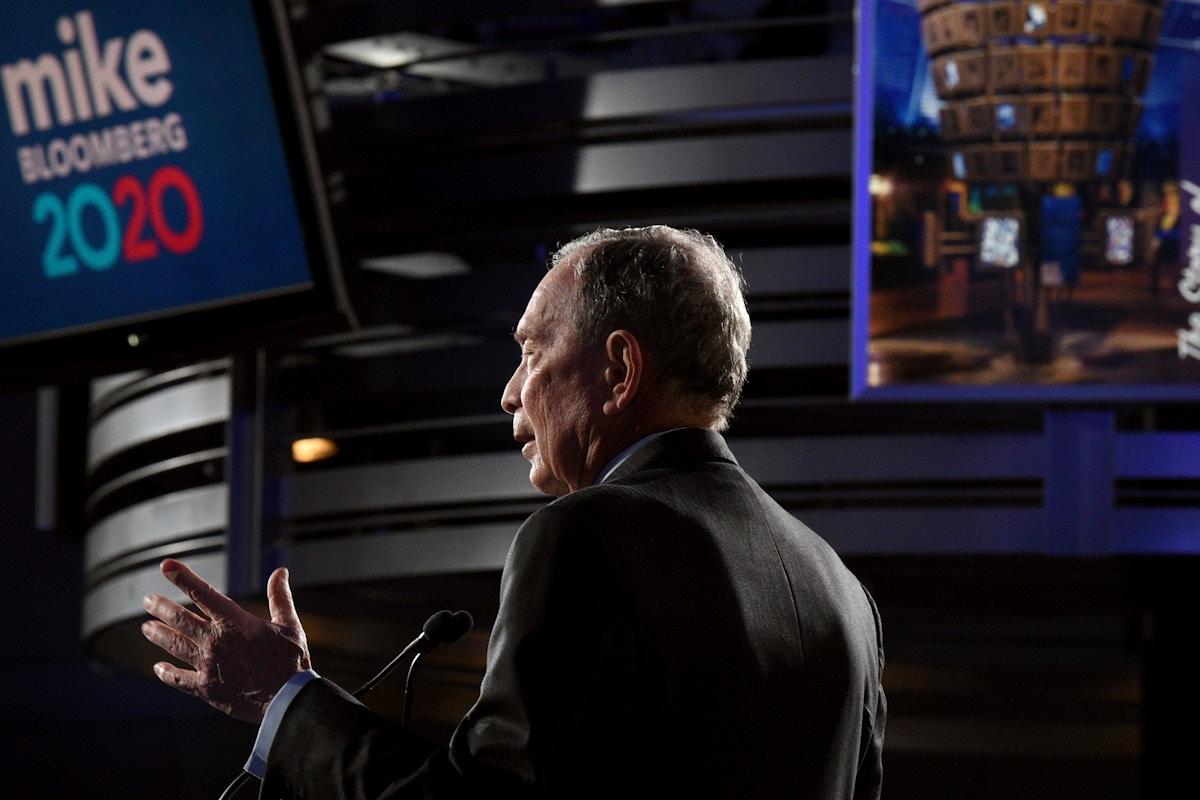 TV Executives Celebrate Bloomberg's Unprecedented Spending Spree