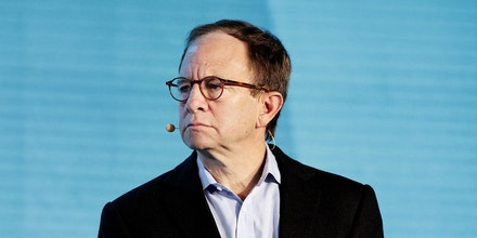 Steven Rattner, chairman and chief executive officer of Willett Advisors LLC, pauses during a panel discussion at the Bloomberg New Economy Forum in Beijing, China, on Thursday, Nov. 21, 2019. The New Economy Forum, organized by Bloomberg Media Group, a division of Bloomberg LP, aims to bring together leaders from public and private sectors to find solutions to the world's greatest challenges. Photographer: Takaaki Iwabu/Bloomberg via Getty Images