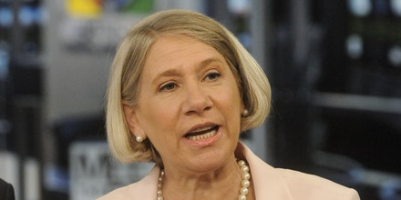 MEET THE PRESS -- Pictured: (l-r)  Anita Dunn, Fmr. White House Communications Director, appears on