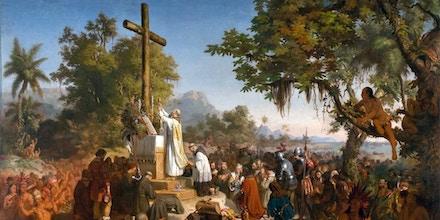 Evangélicos atuaram para influenciar nomeação na Funai e assim retomar a evangelização de indígenas. Eles querem, a seu modo, recriar a cena registrada em A Primeira Missa no Brasil, óleo de 1861 de Victor Meirelles.