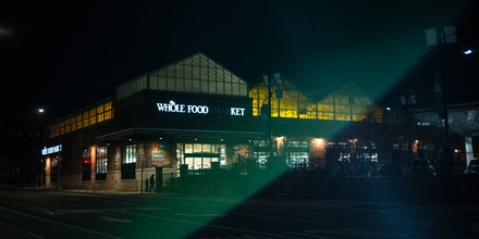 A Whole Foods store in Brooklyn, New York.