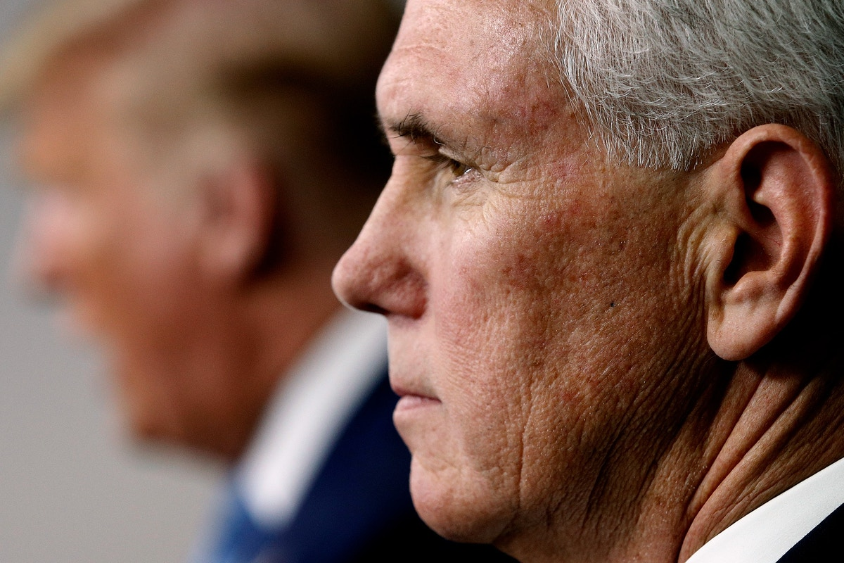 Dear Mike Pence Save Us From Trump And Coronavirus