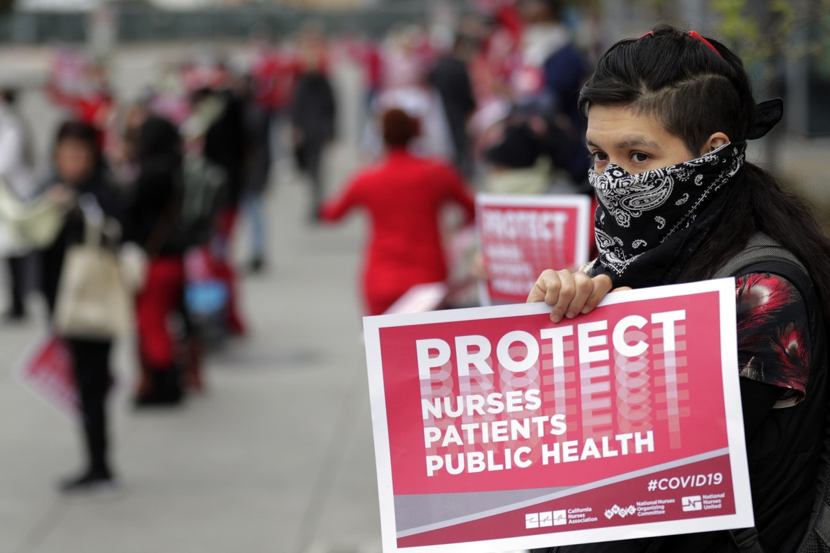Kaiser Permanente Threatened to Fire Nurses Treating Covid-19 Patients for Wearing Their Own Masks, Unions Say