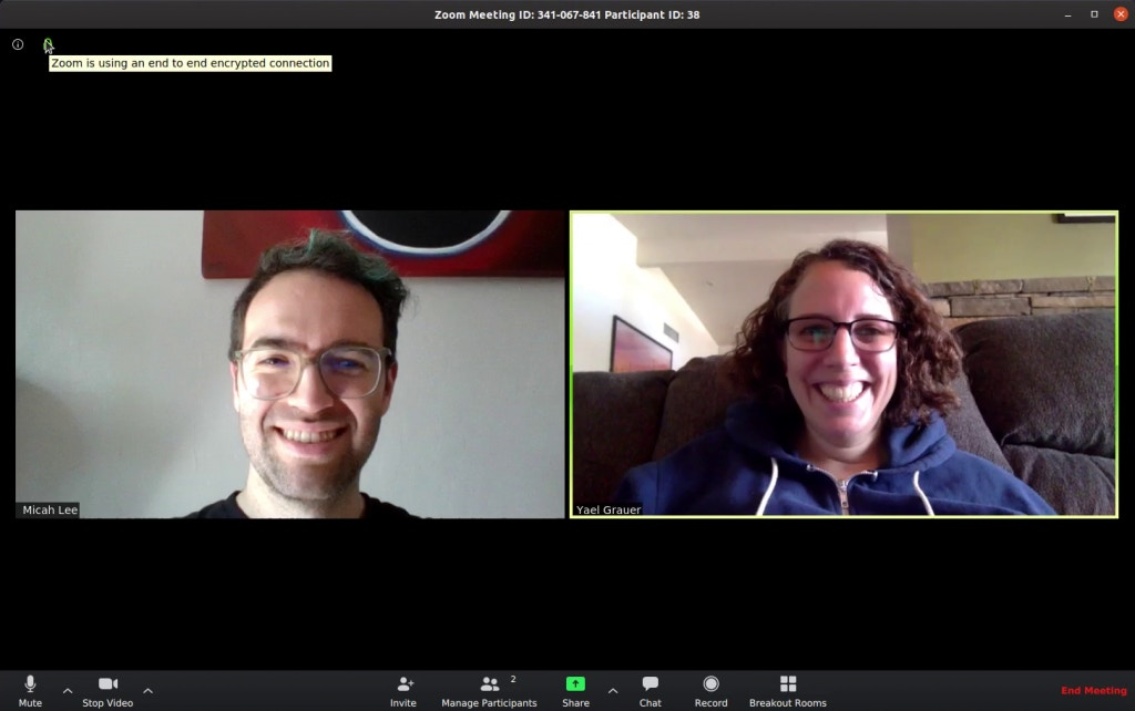 Zoom Meetings Do Not Support End To End Encryption