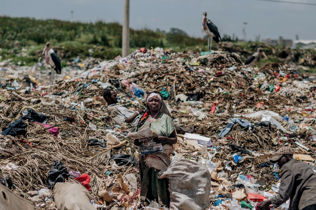 As Africa Drowns in Garbage, the Plastic Business Keeps Booming