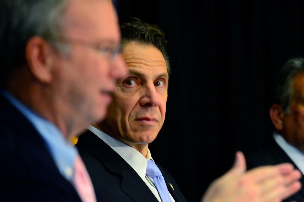 Under Cover of Mass Death, Andrew Cuomo Calls in the Billionaires to Build a High-Tech Dystopia