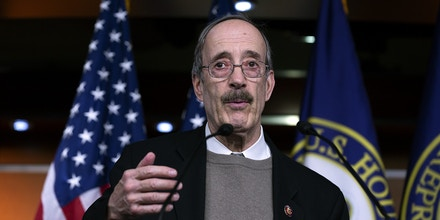 Representative Eliot Engel, a Democrat from New York, speaks during a news conference at the U.S. Capitol in Washington D.C., U.S., on Tuesday, Jan. 28, 2020. President Donald Trump's lawyers finished presenting his defense on Tuesday, their third day of arguments in the Senate impeachment trial. The next phase, 16 total hours of senators' questions for both sides, will begin Wednesday. Photographer: Stefani Reynolds/Bloomberg via Getty Images